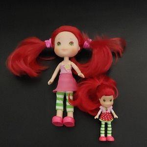 BOGO🌺2008 Hasbro Strawberry Shortcake Dolls